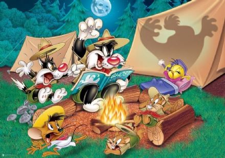 Looney Tunes Cartoon wall mural wallpaper